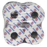 Jangro White 2ply Mini Jumbo Toilet Roll 2.25