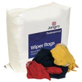 Jangro Wipers/Rags Silver Label 10kg