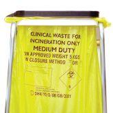 Jangro Yellow Sacks Medium Duty 15