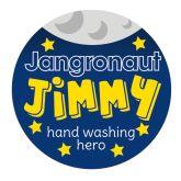 Jangronauts Jimmy Pupil Sticker (Pack of 20)