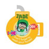 Jangronauts Dispenser Jade Now Wash Your Hands Stickers (10 stickers)
