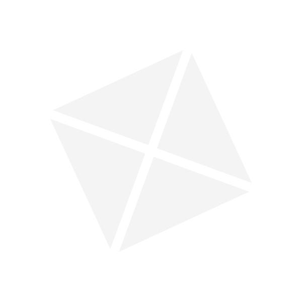 """Pleasure Triangular White Plate 12.6"""" (6)"""