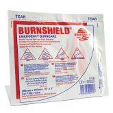 "Burnshield Hydrogel Burn Dressing 8""x8""."