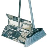Stainless Steel Lobby Dustpan & Brush