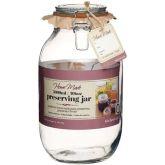 Glass Preserving Jar 106oz