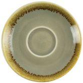 """Olympia Kiln Moss Espresso Saucer 4.5"""" (6)"""