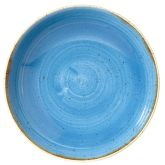 "Churchill Stonecast Cornflower Blue Coupe Bowl 9.75"" (12)"
