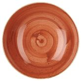 "Churchill Stonecast Spiced Orange Coupe Bowl 9.75"" (12)"