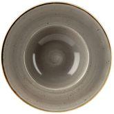 "Churchill Stonecast Peppercorn Grey Wide Rim Bowl 9.5"" (12)"
