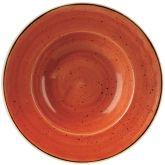 "Churchill Stonecast Spiced Orange Bowl 11"" (12)"