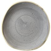 Churchill Stonecast Peppercorn Grey Organic Round Plate 7.25