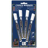 Small White Chalkboard Markers (4)