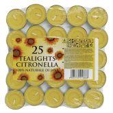 Fly Deterrent Tealights. (25)