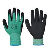 Portwest A645 Green Cut 5 Special Hazard Gloves (M)