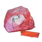 Jangro Red Laundry Bags With Dissolvable Strip 18