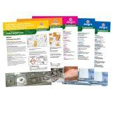 Set Of 10 A4 Laminated Instruction Kitchen Hygiene Sheets
