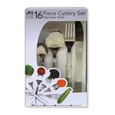 Economy Cutlery Set 16 Pieces