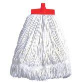 Red Stayflat Cotton Kentucky Mop Head 16oz.
