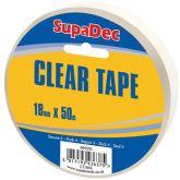 SupaDec White Duct Tape Roll 50m