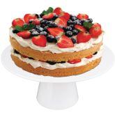 White Melamine Cake Stand