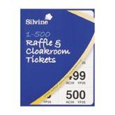Silvine Cloakroom Ticket 1-500