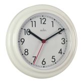 White Plastic Wall Clock