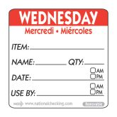 Red Wednesday Use by Label (500)