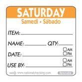 Orange Saturday Use by Labels (500)